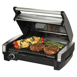 Hamilton Beach Electric Smokeless Indoor Searing Grill Gridd