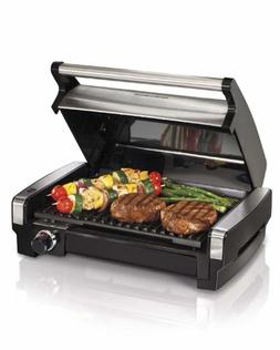 Hamilton Beach Electric Smokeless Indoor Searing Grill with