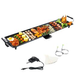Electric Teppanyaki Table Top Grill Griddle BBQ Barbecue Pla