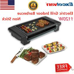 Extra Large Electric Non Stick Griddle Indoor Outdoor Grill
