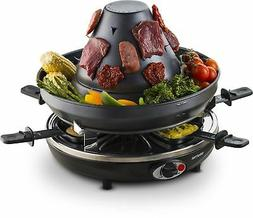 Gourmia GEG1400 Electric Raclette Party Grill With Vertical