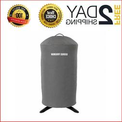 George Foreman Indoor/Outdoor Round Grill Cover Water-Resist