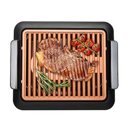 Gotham Steel Indoor Tabletop Electric Smokeless Grill - As S