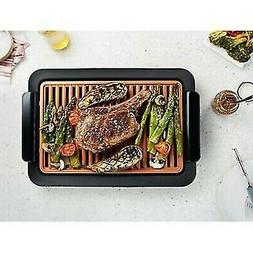 Gotham Steel Smokeless Electric Grill XL, Deluxe Nonstick As