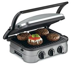 Cuisinart GRID-8NFR 5-in-1 Griddle Contact Counter-top Grill