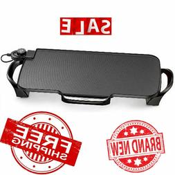 griddle electric bbq grill nonstick smokeless portable