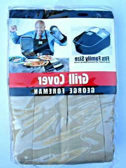 George Foreman Grill Cover new! Fits Family Size Taupe Color