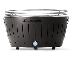 grill smokeless charcoal anthracite