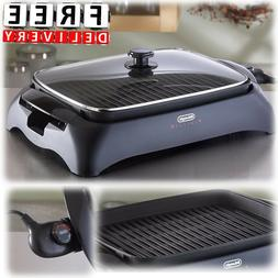 Indoor Electric Grill BBQ Outdoor Portable Smokeless Adjusta