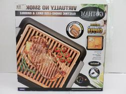 """GOTHAM STEEL INDOOR ELECTRIC SMOKE-LESS GRILL & GRIDDLE 16"""""""
