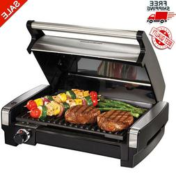 Indoor Grill Electric Smokeless Portable BBQ Kitchen Healthy