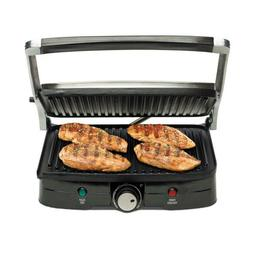 INDOOR GRILL GRIDDLE Smokeless BBQ Portable Electric POWER N