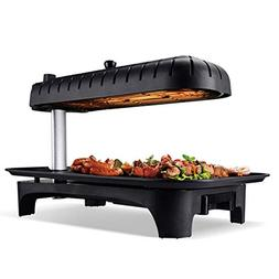 Indoor household smoke-free non-stick 3D electric grill