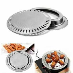 Indoor Outdoor BBQ Smokeless Stovetop Grill Non-stick Roasti