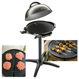 Indoor/Outdoor Electric Grill Barbecue Nonstick, Fat Removin