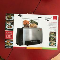 Ronco Indoor Ready Smokeless Grill Oven Cooker Stainless Ste