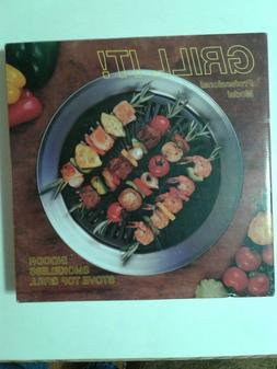Grill It Indoor Smokeless Stove Top Grill Professional Model