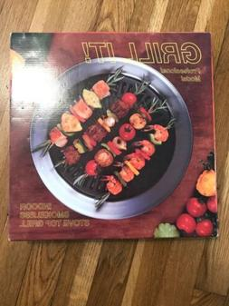 Grill It Indoor Smokeless Stovetop Grill Professional Model
