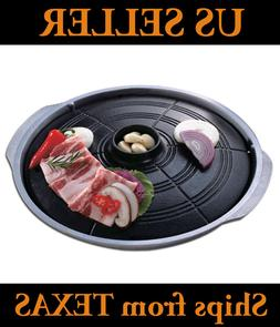 Korean Barbeque Grill, Stovetop, Table Top BBQ, Indoor Barbe