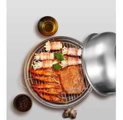 Korean <font><b>Smokeless</b></font> barbecue stove stainles