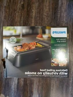*L@@K* BRAND NEW...Philips Indoor Smoke-less Grill HD6371/98