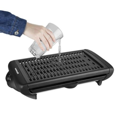 Smokeless Electric Non Stick Grill Griddle Barbecue BBQ