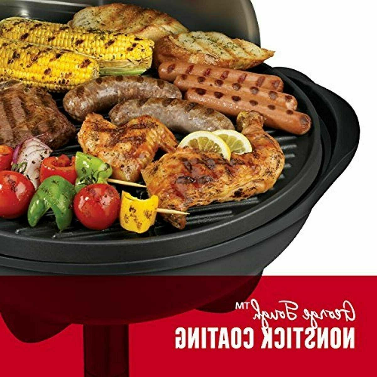 George Foreman 15+ Serving Indoor/Outdoor Electric Grill,