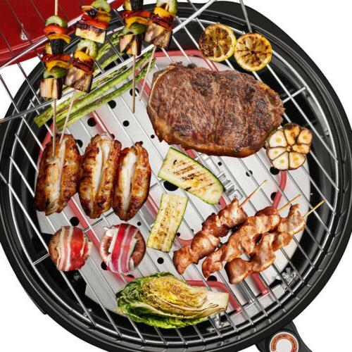 1600W Electric Non-Stick Grill Griddle Plate