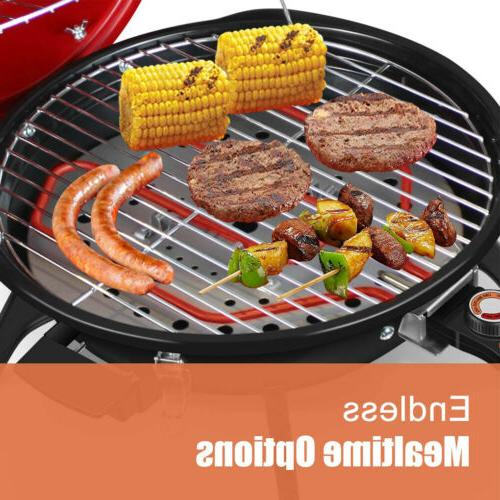 Grill Griddle Plate w/ Cover