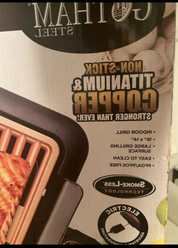 1618 electric smokeless portable grill brand new