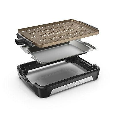 George 172 In. Open Grate Grill,