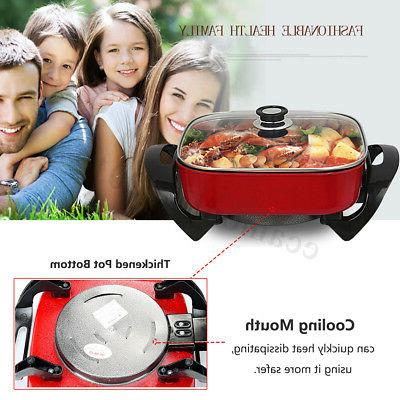 1800W Multifunction Non-Stick Smokeless Cooking