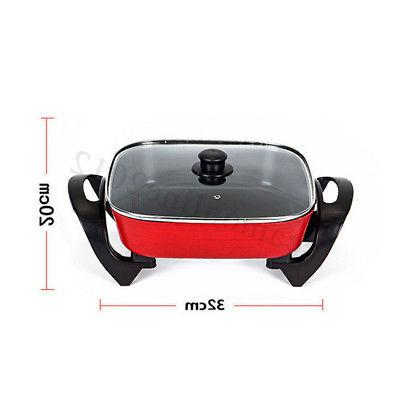 1800W 220V Non-Stick Grill Cooking