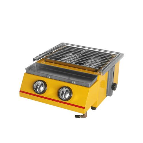 Gas Griddle Table Smokeless Kitchen
