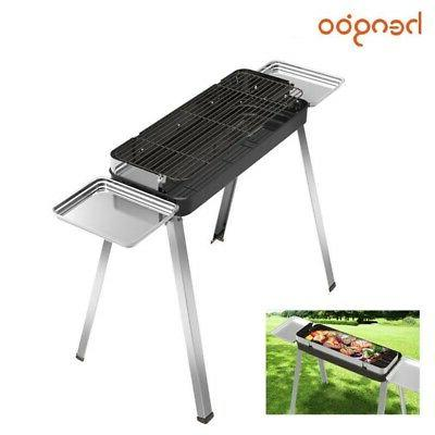 New Fold Barbecue Charcoal Grill Kebab Stainless