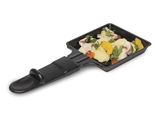 Hamilton 31612-MX Raclette Indoor Inch Nonstick, Black