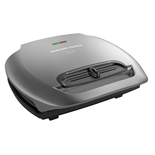 George Foreman 5-Serving Classic Plate Electric Indoor Grill