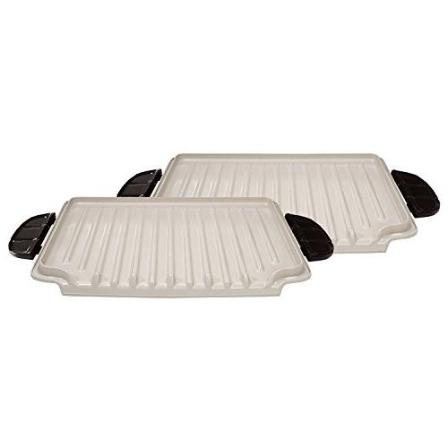 George Foreman Evolve Grill System Ceramic Grill Plates, GFP