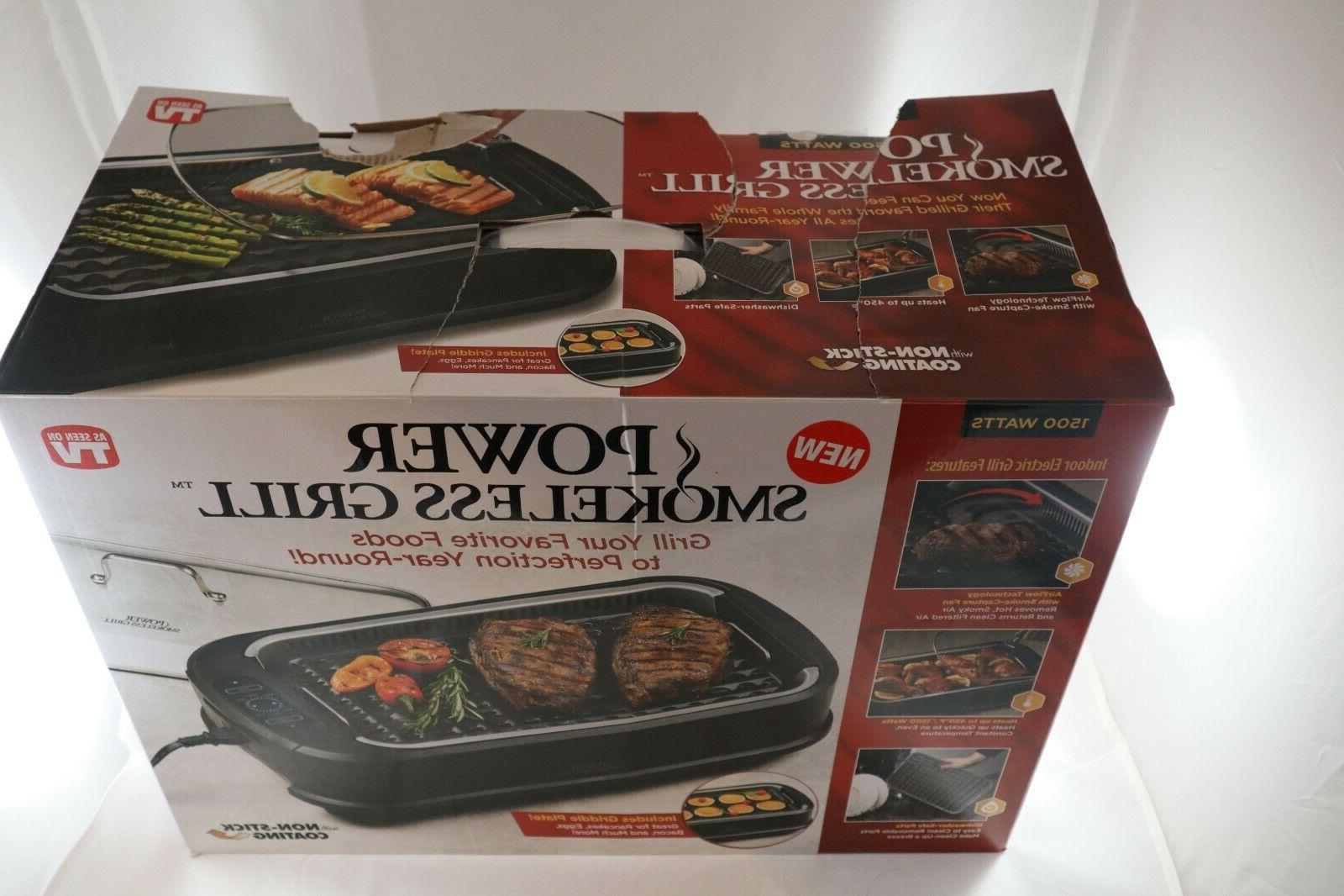 As on by Tristar Power Indoor Grill 1500 - FREE