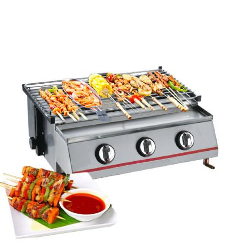 BBQ Smokeless Camping Barbecue Cooker Outdoor Cooking Steel