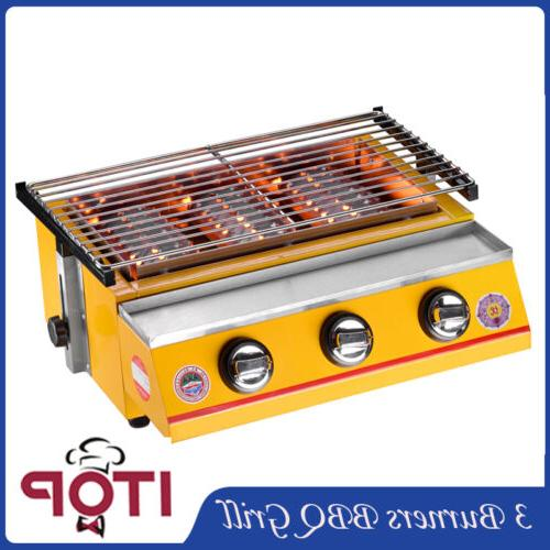 BBQ Grill Portable Smokeless Camping Cooker Outdoor