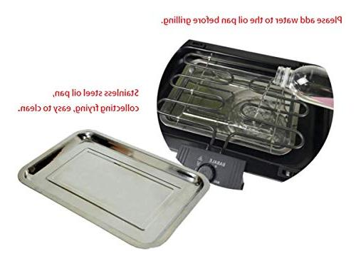 TabEnter BBQ Grill, Grill, Grilled with Can Use Home 3 People