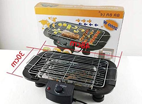 TabEnter Grill, with Charcoal, Use Home Smokeless Barbecue Suitable 3