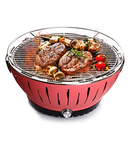 charcoal barbecue grill lotus portable