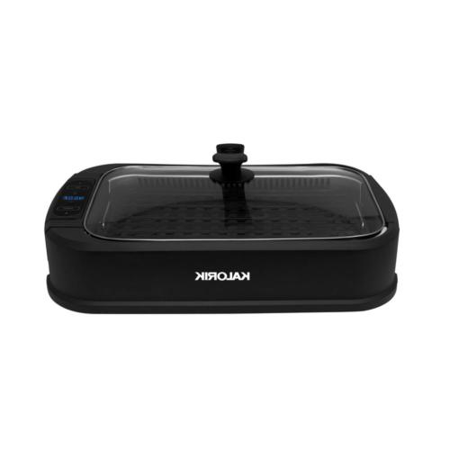 delonghi electric grill w lid black stainles