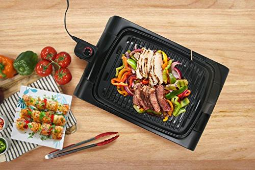 Elite Indoor Nonstick Grilling Heat Up, For Fish, Meals, To Clean Design, Dishwasher