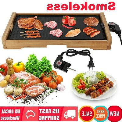 electric barbecue griddle non stick table top