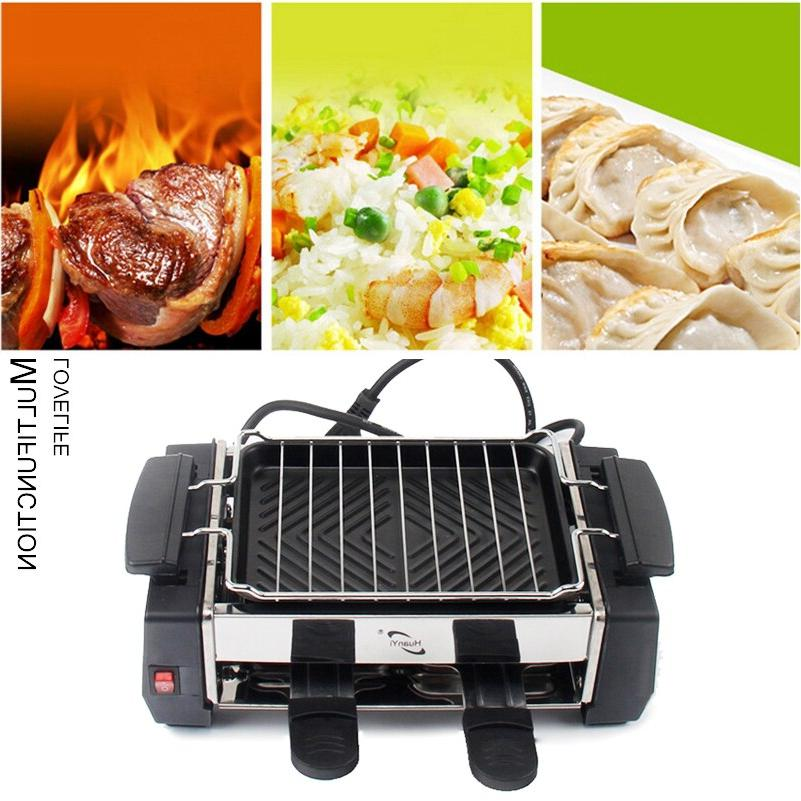 Electric BBQ <font><b>Grill</b></font> 1000W Travel <font><b>Grill</b></font> for Electric