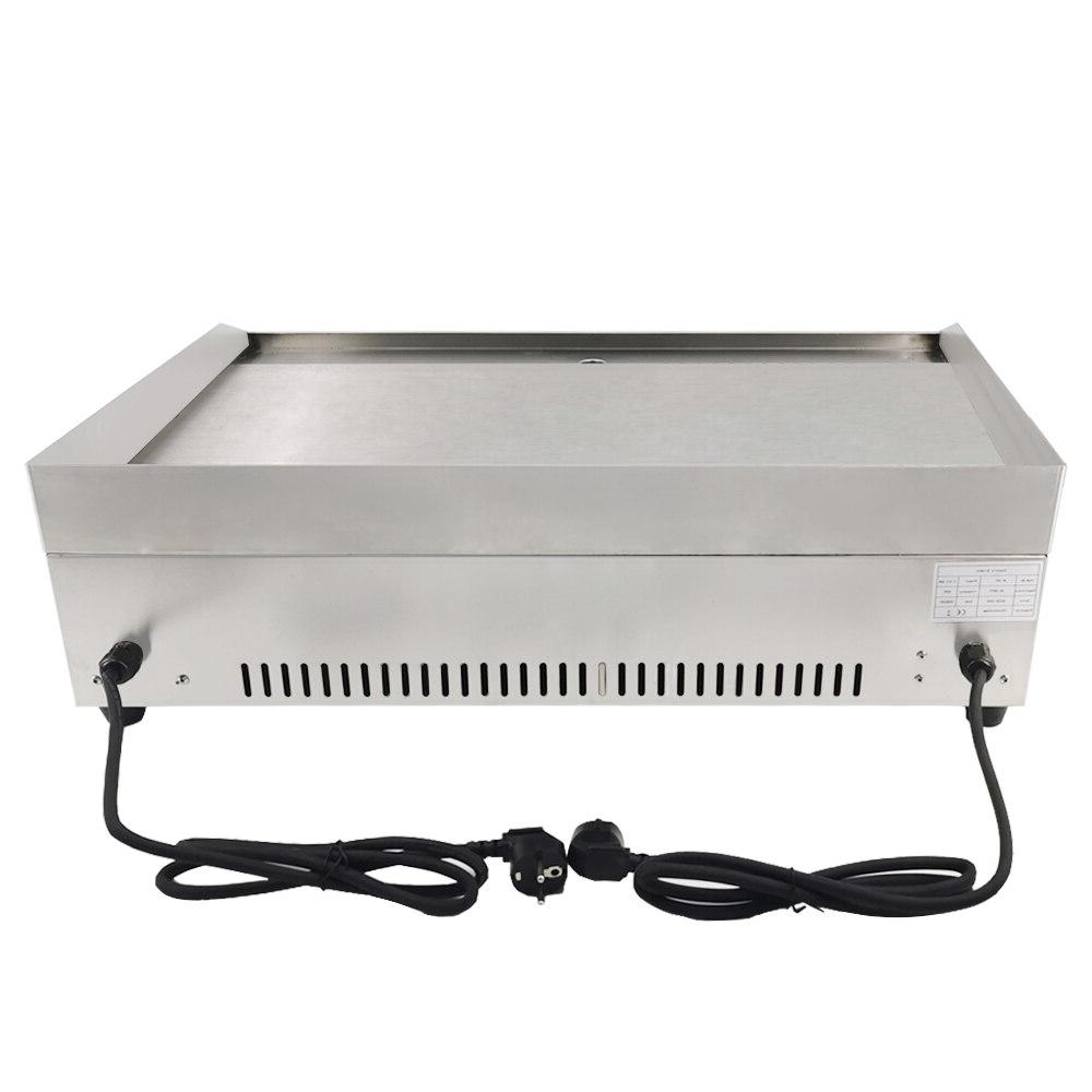 Electric Bbq Flat Pan with temperature