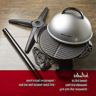 Electric Grill BBQ Indoor Nonstick Safe 15-Serving NEW